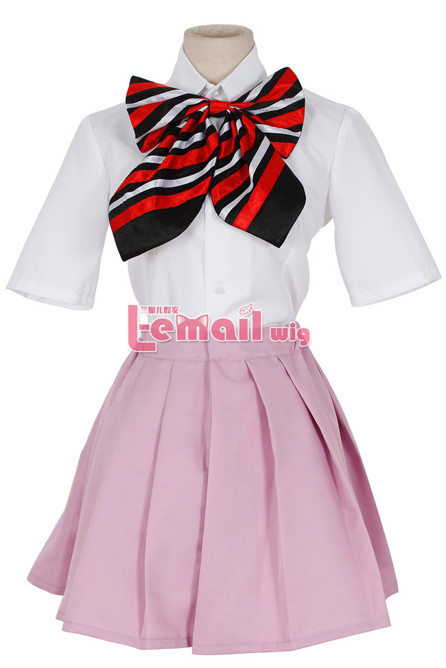 Custom Size Anime Blue Exorcist Ao no Exorcist Cosplay Shiemi Moriyama Costume Anime School Uniform Cosplay