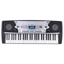 54 Keys Teaching-Type Electronic Organ Multifunction LCD Display Electronic Keyboard Piano with Music Stand & Microphone(China (Mainland))