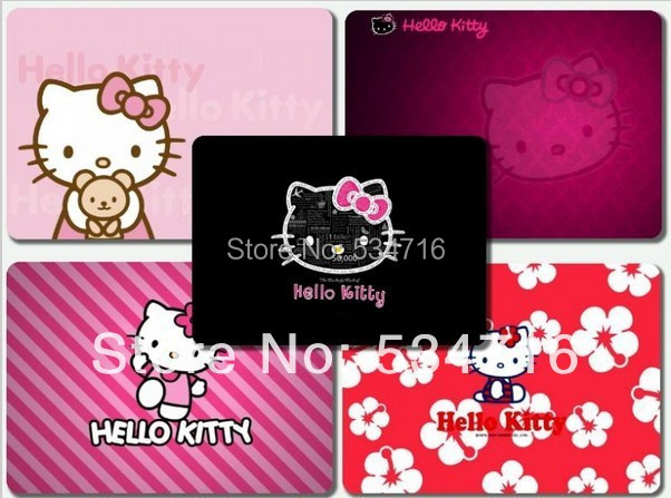 Desktop pad customization mousepad hello kitty cute gaming mouse pad large notbook computer mouse mat 8 size gear mouse pad(China (Mainland))
