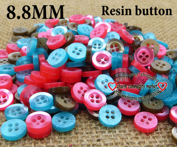 200PCS 8.8MM kid'sbuttons buttons for garments kids sewing crafts cloth for sewing  R-046