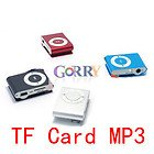 Mini Clip MP3 Player Metal Support 4GB 8GB 16GB TF/Micro SD Card MP3 Music Players Gift (10pcs/lot)(China (Mainland))
