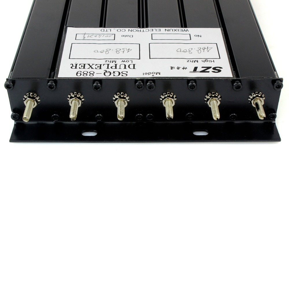 Best Price 25W UHF 6 Cavity Duplexer for Radio Repeater N-connector 380-470MHz J6135A(China (Mainland))