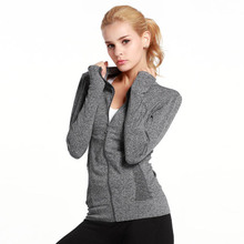Buy NEW Running Jacket Women Yoga Zipper Long Sleeve Women Sport Jacket Fitness Ladies Hoodies Sports Women's Clothing 06 for $30.39 in AliExpress store