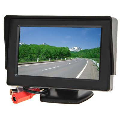 4.3inch car monitor AV Car Rear View System TFT Monitor Screen and Double Video Input Function(China (Mainland))