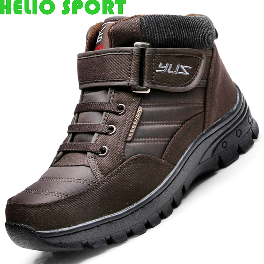 outdoor climbing shoes men warm snow boots slip outdoor shoes