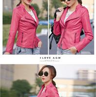 Женская куртка AAWjk 2015 jaqueta couro AAWjk0201