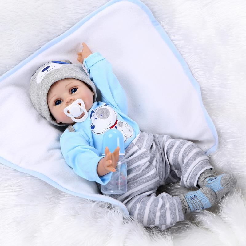 Newest Candy Open Eyes Reborn Babies Doll Realistic Bonecas Fake Solid Silicone Reborn Dolls Cosplay Brinquedos(China (Mainland))