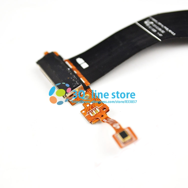 100%ORIGINAL For SAMSUNG N8000 replacement charging dock flex charger connector flex cable plug in flex FREE SHIPPING!(China (Mainland))