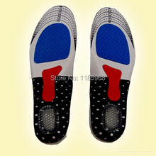 2pcs/lot High-grade Sports Massage Cushioning Insoles Free Size Running Shoes Basketball Shoes Gel Orthopedic insoles Feet Care(China (Mainland))