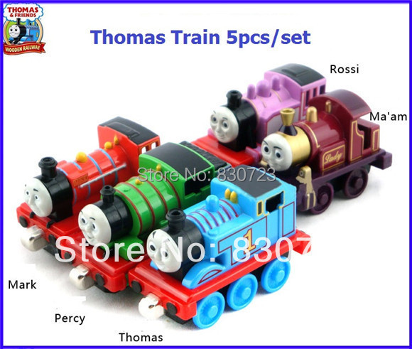 5pcs Learning Curve Thomas & Friends metal train Models collections kids birthday gifts(Mix order)(Hong Kong)