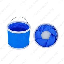 1pc   Portable Folding Bucket Retractable Canvas Car Washing Bucket #CT5440(China (Mainland))