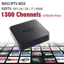 6months IUDTV Italy UK DE European IPTV Account Free With Android TV Box Smart TV 1G/8G Kodi Miracast Sky Italy Iptv Box