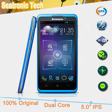 100% Original Lenovo S890 mobile Phone 5.0 Inch IPS QHD Screen Android 4.0 MTK6577 Dual Core 1G RAM 4G ROM GPS 8.0MP Camera(China (Mainland))
