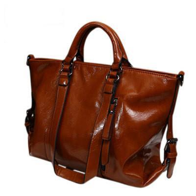 2015 women leather handbag Genuine leather women handbag british style shoulder bag crossbody women messenger bags tote Q9 F235(China (Mainland))