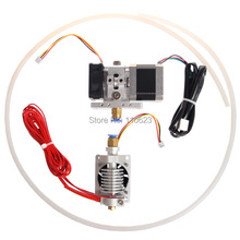 Free shipping JIETAI 0.3mm Nozzle 3mm filament hotend GT9L assembled long-range extruder 3d printer