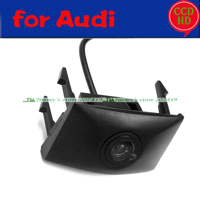 Hot Car Front View Camera Grille Logo Embeded Camera For 2012 2013 Audi Q7 fast Shipping CCD HD Colour Waterproof(China (Mainland))