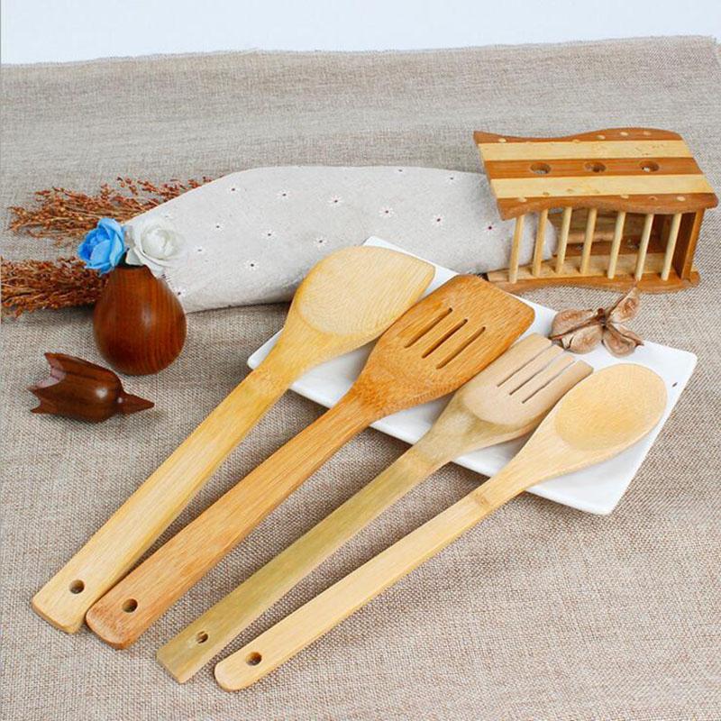 Keuken Gereedschap Set : Online kopen Wholesale bamboe keukengerei uit China bamboe keukengerei