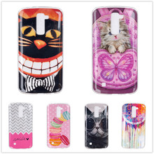 Ultra-Thin Soft TPU Transparent Gel Cover for LG K10 Cases 5.3inch Crystal Soft TPU Printing Cover for LG K10 Cases 5.3inch * >