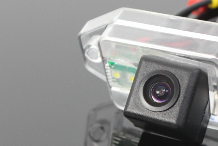 Car Rear View Camera / For Toyota Land Cruiser Prado 2009~2014 / HD Back Up Reverse Camera / License Plate Lamp Plug & Play(China (Mainland))