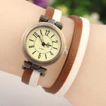 Fashion Women Quartz Watch New Fashion Casual Multilayer Leather Watch Women Wristwatch Ladies Dress Watch Relogio