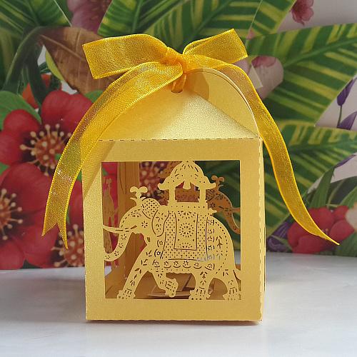Elephant Wedding Favors Elephant Wedding Favor Box