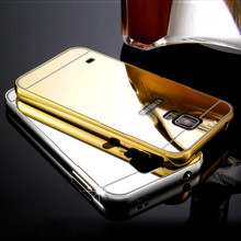 Buy Luxury Aluminum Metal Frame Mirror Acrylic Cover Case for Samsung Galaxy S3 Neo S4 S5 S6 S7 Grand Prime G530 A3 A5 2016 J1 J2 J5 for $2.65 in AliExpress store