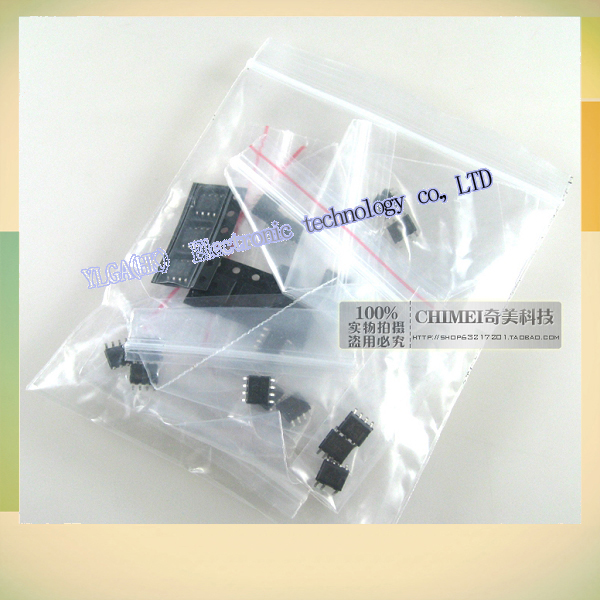 New Original LCD supply IC component package 10 kinds FAN7530 1653A 1271A other 3Free shipping(China (Mainland))