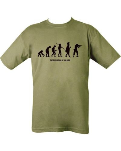 MILITARY Evolution of a Soldier T Shirt Unisex Special Air Service US Marines SAS Army USMC Tops Tee Shirts Men Women T-shirt(China (Mainland))