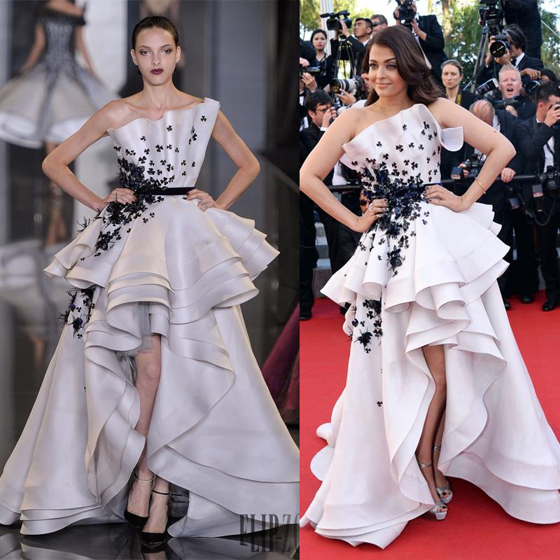 Runway to red carpet Celebrities in designer dresses 2018