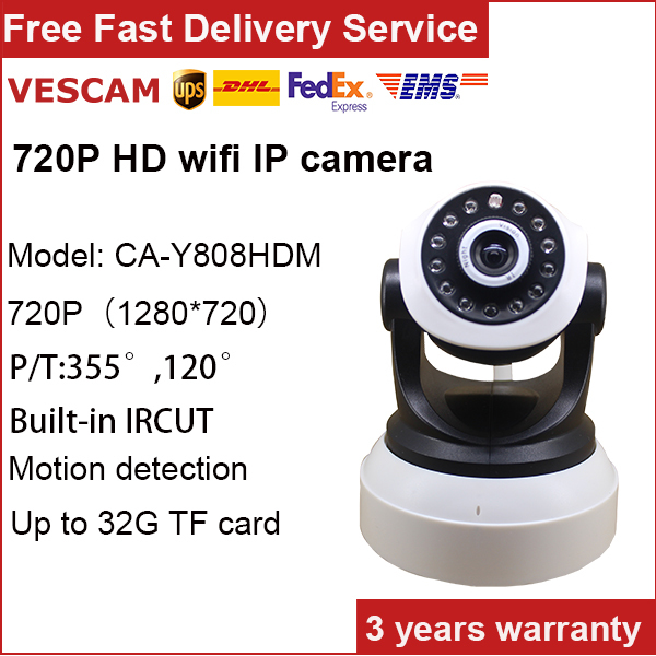 H.264 video compression IP network P2P wireless home serveillance onvif 720p ip camera security camera system baby monitor(China (Mainland))