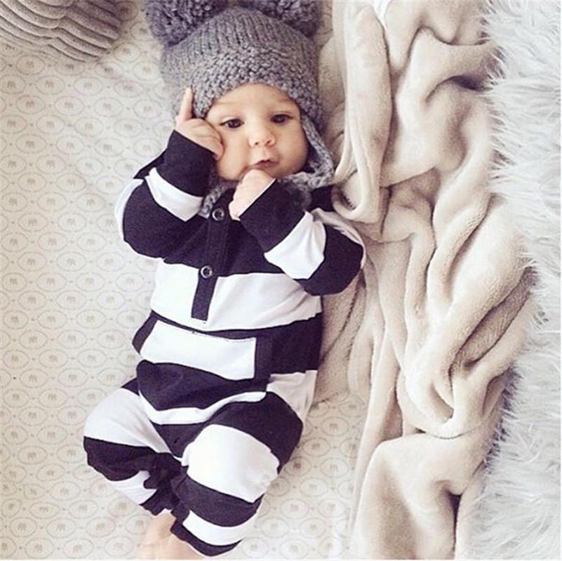 Autumn Cotton Newborn Baby Boy Clothes Baby Romper