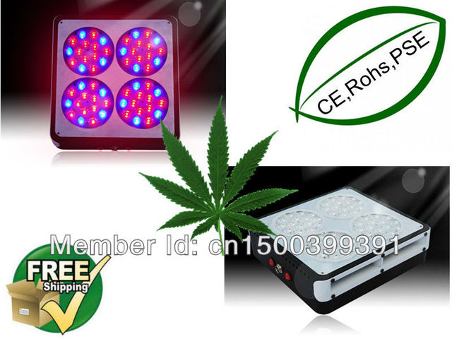 Fedex/DHL Free Ship 2pcs/lot ship 20% OFF discount  Apollo4 60*3W hydroponics grow light dropship worldwide 3 years warranty