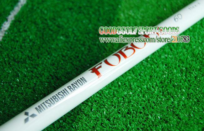 Здесь можно купить  Wholesale  Golf shaft FOBOBI 60 Good quality Golf Clubs wood/driver shaft Regular or Stiff 3pcs/lot Graphite shaft Free Shipping  Спорт и развлечения