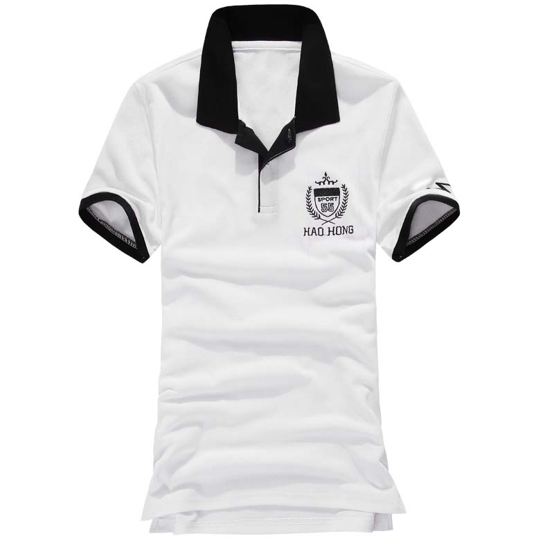 New 2016 Mens Polo Shirts Fashion Camisetas Short Sleeve Polo Masculinas Turn Down Collar Summer Casual Men's Polo Croco 4-Color(China (Mainland))