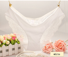 2015 New arrival women's sexy lace panties seamless panty briefs underwear free shipping V03(China (Mainland))