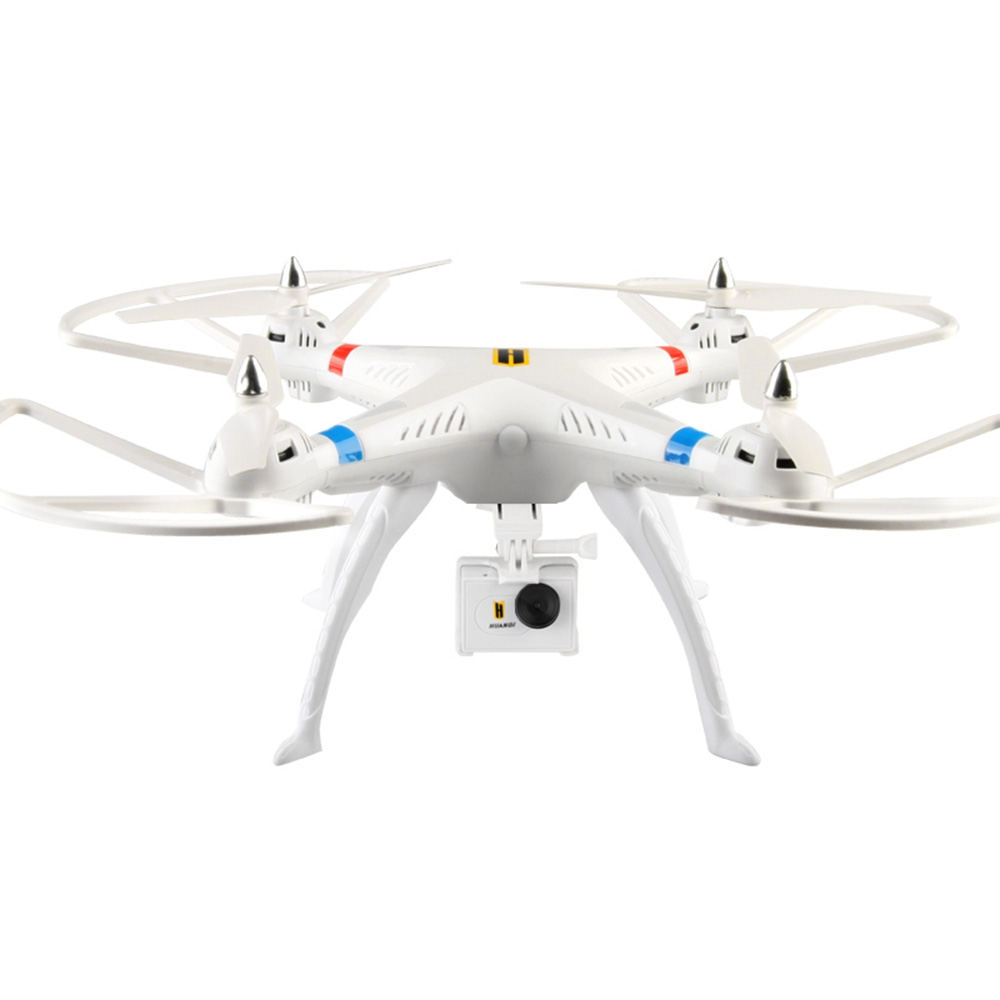 HUANQI RC Helicopter 2.4G 4CH 6-Axis Gyro FPV RC Quadcopter with HD Camera RTF Hold Altitude Mode Drone with LED light Drones(China (Mainland))