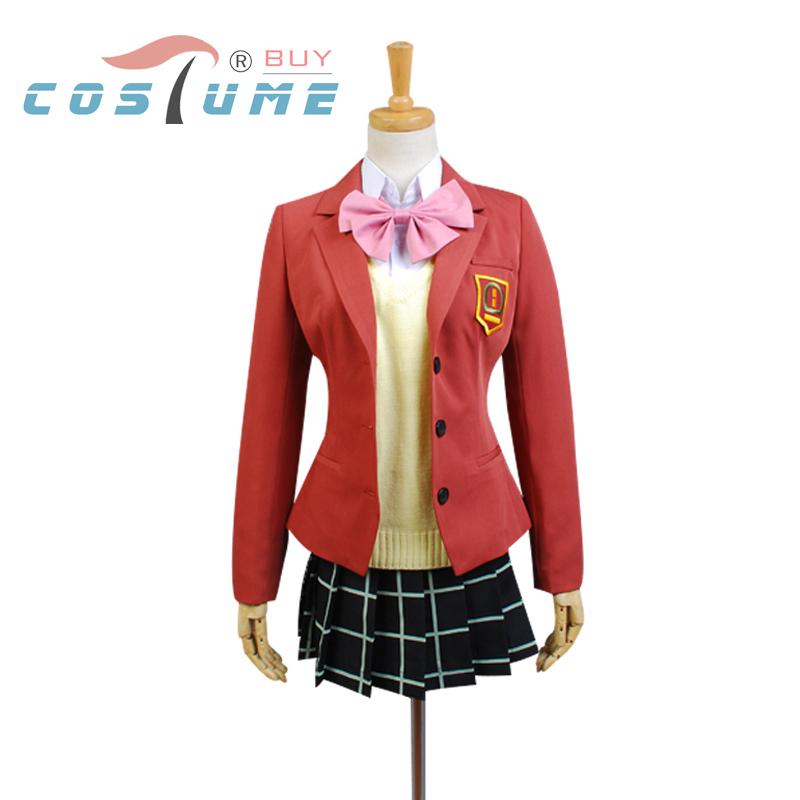 Tonari Kaibutsu-kun Asako Natsume Uniform Suit Black Skirt Inner Shirt Anime Halloween Cosplay Costumes Women