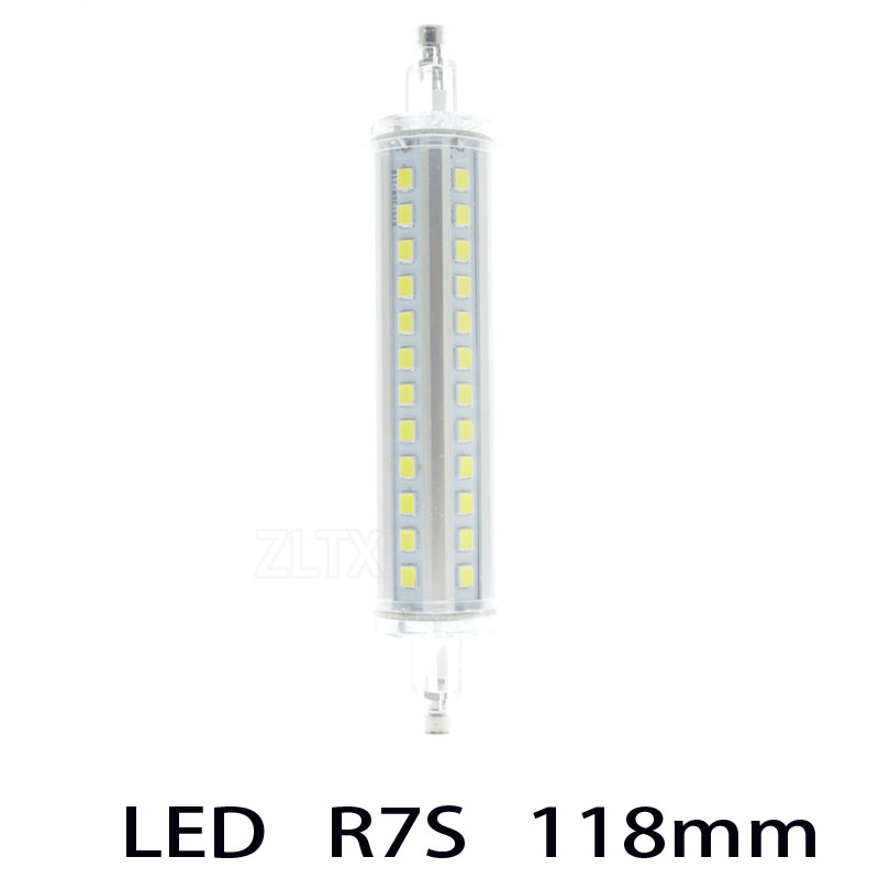 Newest 7w 78mm LED R7S light 15w 118mm R7S lamp no dimmable R7S 360 degree angle perfect replace halogen lamp AC85-265V(China (Mainland))