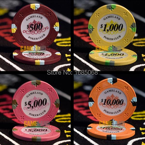 Фишки для покера Gameland 10 14g ! /! pokerstars PK07 фишки для покера pokechip 5pcs 11 fichas e30
