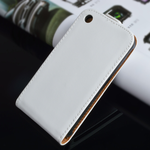 Korean Style Genuine Leather Case For iPhone 3 3G 3GS Flip Case Cover 2015 New Arrival !(China (Mainland))