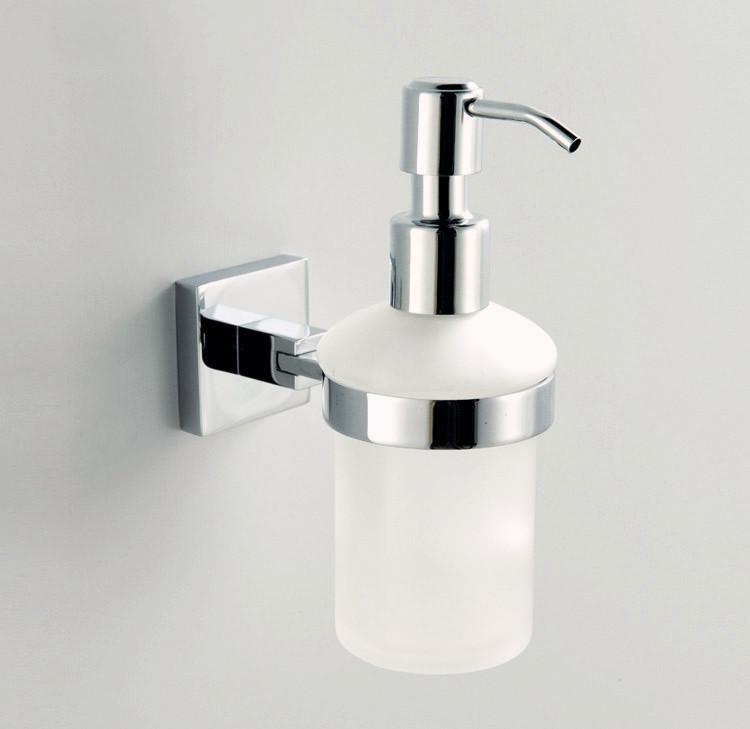 Free Shipping Brass Chrome Soap Dispenser Holder Liquid Soap Dispenser Bathroom Fittings