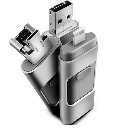 Hot IOS 10 2016 For iphone OTG Usb Flash Drive Pen drive for iphone storage usb stick pendrive 5 5S 6 6S 16G 32G 64GB 128G 256G(China (Mainland))