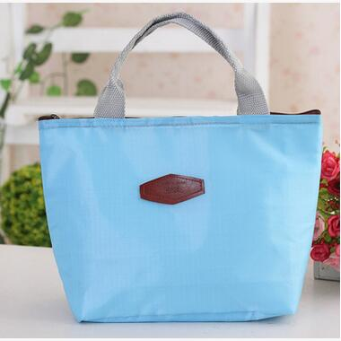 New Folding Fresh Keeping Cooler Bag Portable Tote Lunch Bag Hot/Cold Thermal Insulation Cooler Bag Ice Pack Free Shipping(China (Mainland))