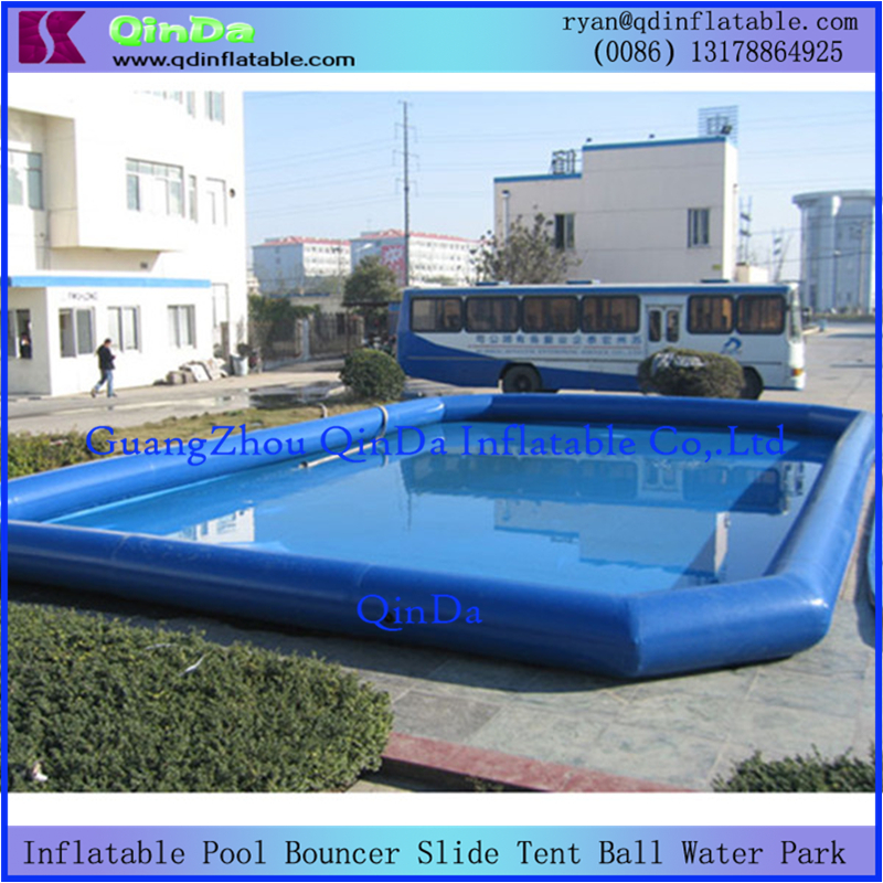 Hot Sale Pool Type 0.9mm PVC Inflatable Swimming Pool For Water Games(China (Mainland))