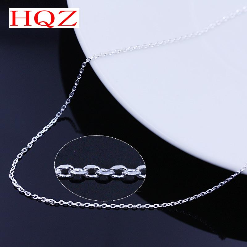 Silver plated necklace Ms. silver color retention of high-quality fashion jewelry manufacturers, wholesale 45CM(China (Mainland))