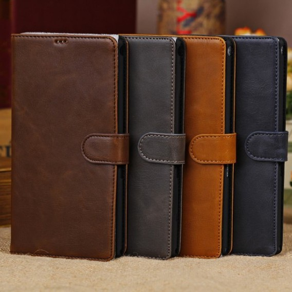 SONY Luxury Crazy Horse Pattern PU Leather Case Xperia Z Ultra XL39h Flip Stand Cover 3 Card Holders YXF02790 - RCD Group Co., Ltd store