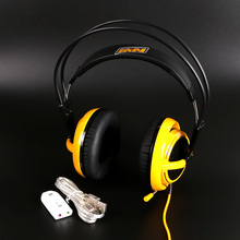 Steelseries Siberia V2 Natus Vincere Edition Gaming Headphone Noise Isolating Game Headphones Headset for Gamer + sound card(China (Mainland))