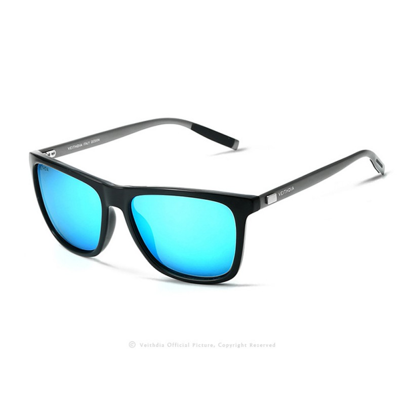 VEITHDIA Brand Design Men Women Retro Aluminum+TR90 Sunglasses Polarized Sunglasses Vintage Eyewear(China (Mainland))