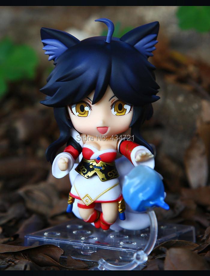 Hot Nendoroid # 411 Nine Tails Fox Ahri Cute Special Ver. Figure Toys New Box<br><br>Aliexpress
