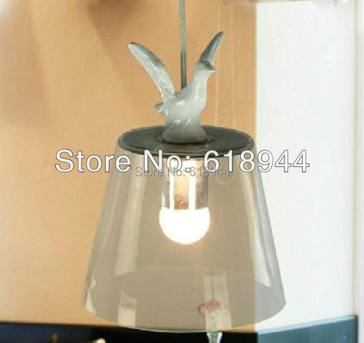 Yc modern brief american restaurant lamp white small pendant light glass lighting<br><br>Aliexpress